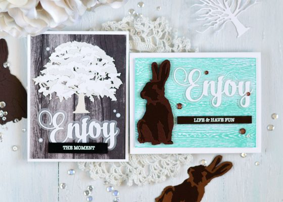 Spellbinders Exclusive Indie Collection Blog Hop. Cards by Svitlana Shayevich
