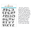 Altenew Floral Alphabet Stamp & Die Bundle