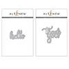 Altenew Simply Hello/Thank You Die Bundle