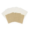 Spellbinders Platinum Pack 1 Burlap Canvas Sheets