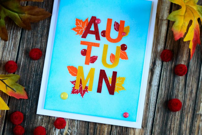 Altenew For All Seasons. Fall/Autumn Card. Card by Svitlana Shayevich