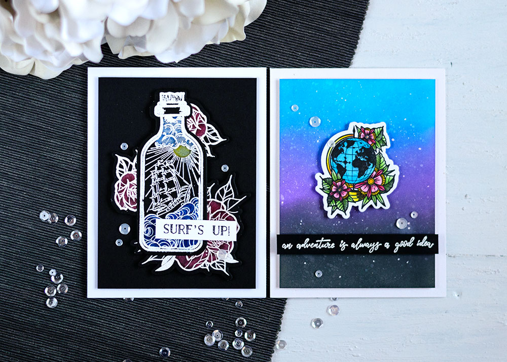 Spellbinbers Inked Messages bu Stephanie Low. Cards by Svitlana Shayevich