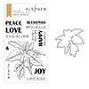Altenew Festive Poinsettia Stamp & Die Bundle