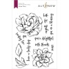 Altenew Inked Flora Stamp Set