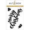 Altenew Mini Christmas Stamp Set
