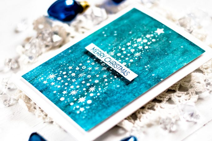 Altenew Starry Night. Card by Svitlana Shayevich