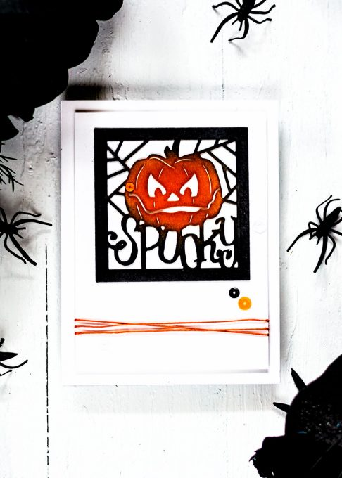 Spellbinders September Large Die Of The Month - 3 Halloween cards. Cards by Svitlana Shayevich
