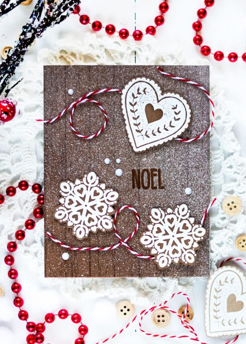 Altenew Peace Love Joy. Holiday Cookies. Card by Svitlana Shayevich
