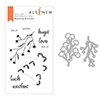 Altenew Blooming Branches Stamp & Die Bundle