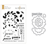 Altenew Peaceful Wreath Stamp & Die Bundle