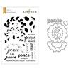 Altenew Peaceful Wreath Stamp & Die Bundle