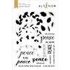 Altenew Peaceful Wreath Stamp Set