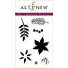 Altenew Poinsettia Pieces Stamp Set