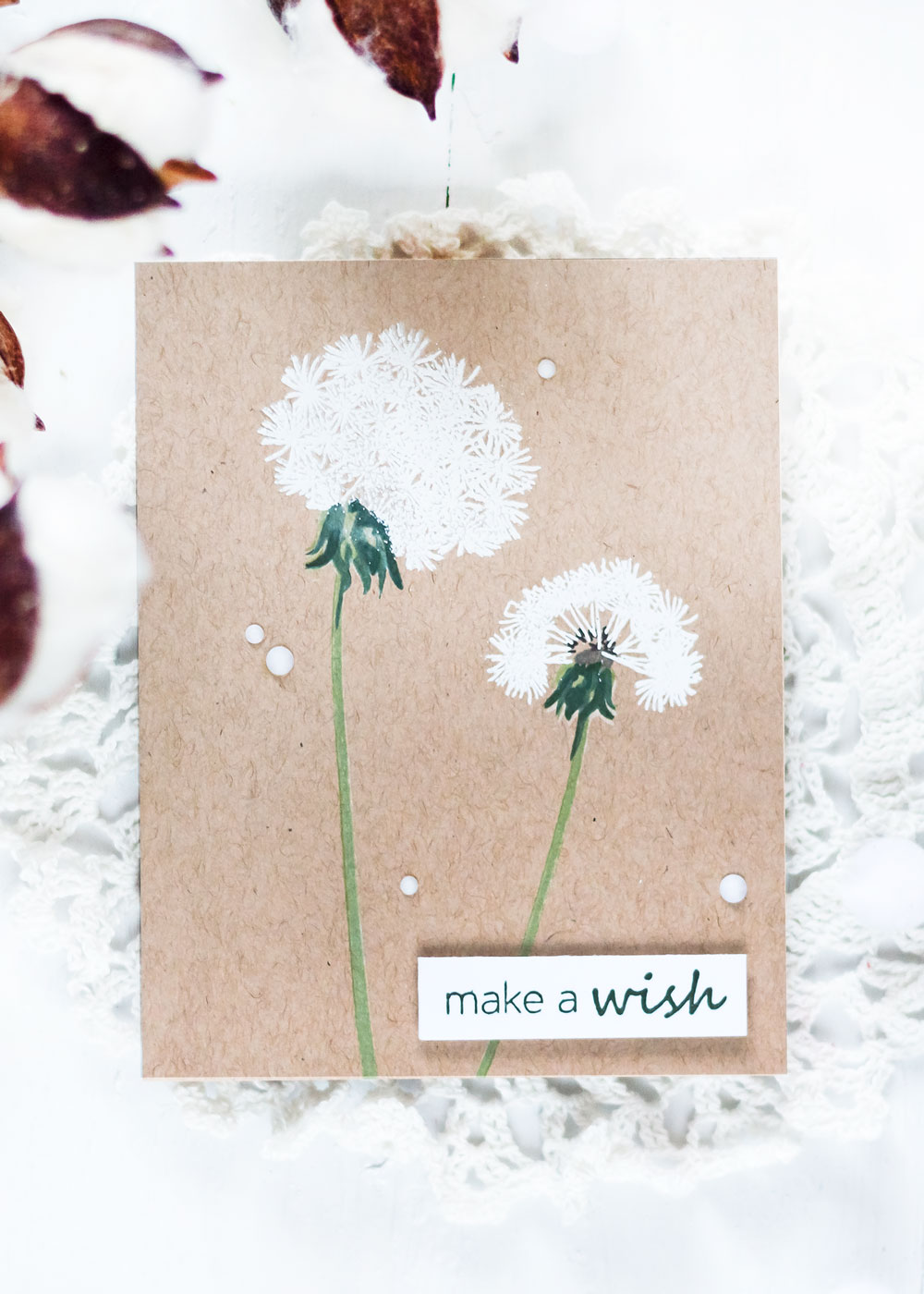 Altenew Dandelion Wishes. Card by Svitlana Shayevich