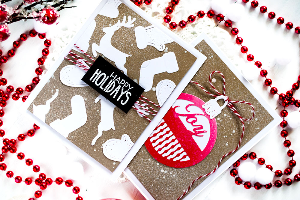 A Charming Christmas Collection Becca Feeken. Cards by Svitlana Shayevich