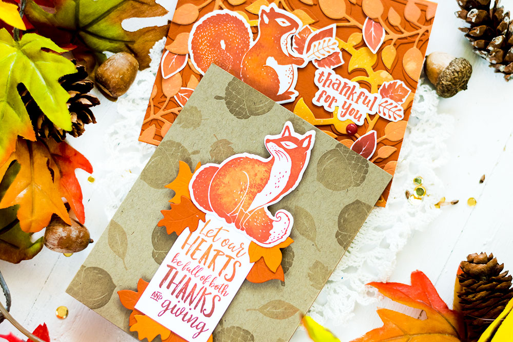 Fun Stampers Journey and Spellbinders are coming together. Cards by Svitlana Shayevich