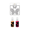 Altenew Flowing Butterfly Stencil & Ink Spray Bundle