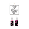 Altenew Flowing Hearts Stencil & Ink Spray Bundle