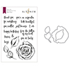 Altenew Inked Rose Stamp & Die Bundle