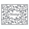 Spellbinders Shapeabilities Blessings Vine Frame Etched Dies