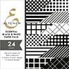 Altenew Essential Black & White 6X6 Paper Pack