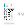 Altenew Love Letters Stamp & Die Bundle