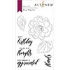 Altenew Wispy Begonia Stamp Set