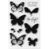 Spellbinders Layered Butterflies Stamp Set