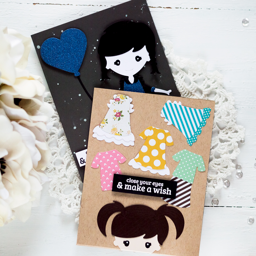 Spellbinders | January Small Die Of The Month - Paper Dolls