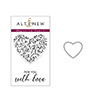 Altenew Magnolia Heart Stamp & Die Bundle