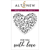 Altenew Magnolia Heart Stamp Set