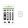Altenew Mini Brownstone Stamp & Die Bundle