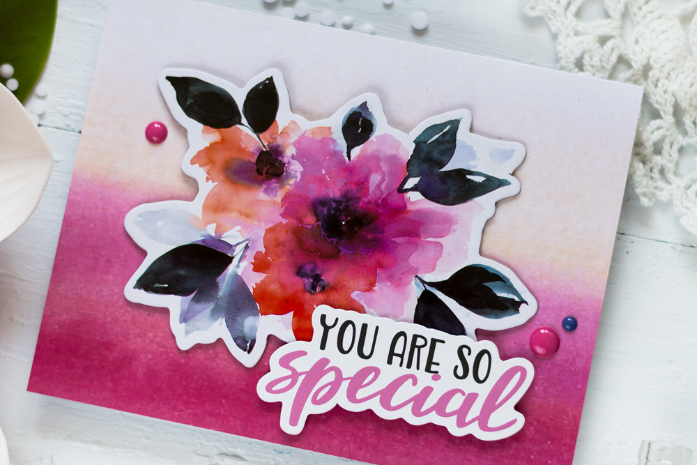 Altenew Live Your Dream Scrapbook Collection. Card by Svitlana Shayevich