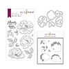 Altenew Beautiful Peony Stamp & Die & Mask Stencil Bundle