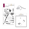 Altenew Dotted Blooms Stamp & Die & Mask Stencil Bundle
