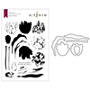 Altenew Exotic Tulips Stamp & Die Bundle