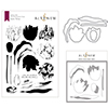 Altenew Exotic Tulips Stamp & Die & Mask Stencil Bundle