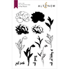 Altenew Frilled Petals Stamp Set