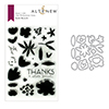 Altenew Bold Bunch Stamp & Die Bundle