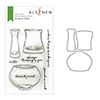 Altenew Versatile Vases Stamp & Die Bundle