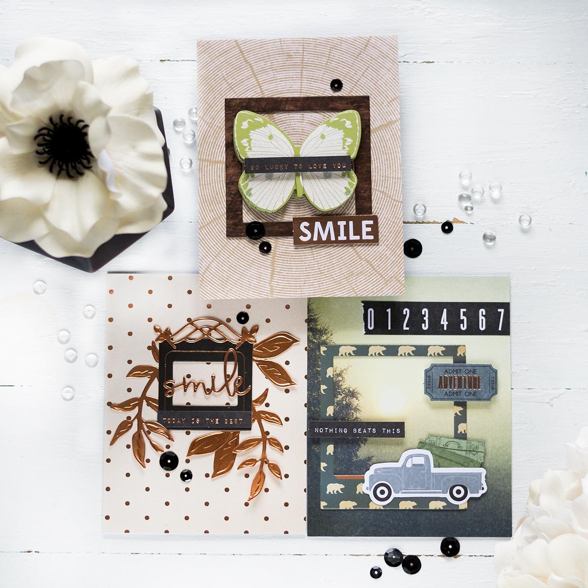 Spellbinders May Card Kit. Card by Svitlana Shayevich