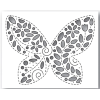 Simon Says Stamp Filigree Butterfly Die