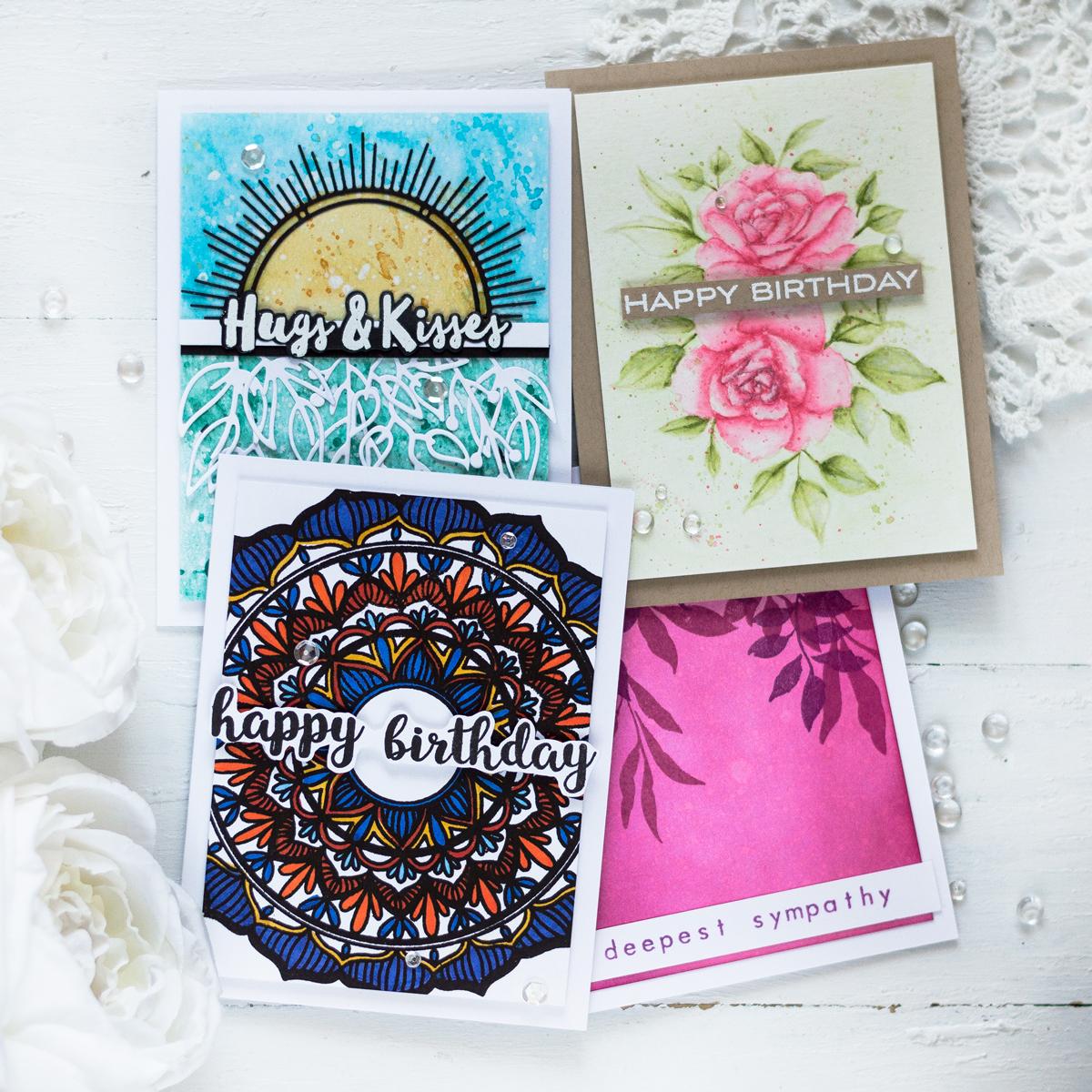Altenew June 2019 Stamp/Die/Stencil Release Blog Hop + Giveaway
