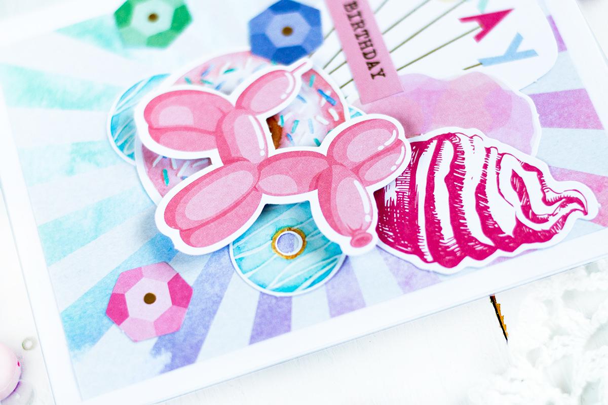 Spellbinders June Card Kit. by Svitlana Shayevich