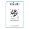 Studio Katia It's Your Birthday Stamp Set