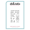 Studio Katia Kobi Makes A Wish Stamp Set