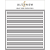 Altenew Beach Towel Stripes Stencil