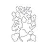 Altenew Pen Sketched Flowers Die Set