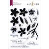 Altenew Playful Plumeria Stamp Set