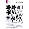 Altenew Playful Plumeria Stamp Set
